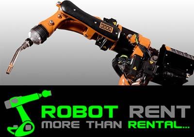 Verhuur industriele robot Kuka