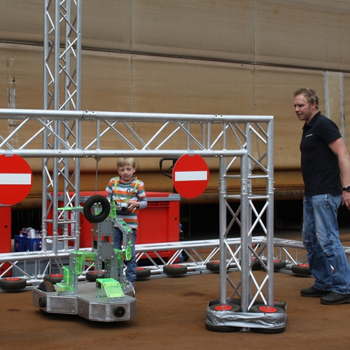 Race of the robots event