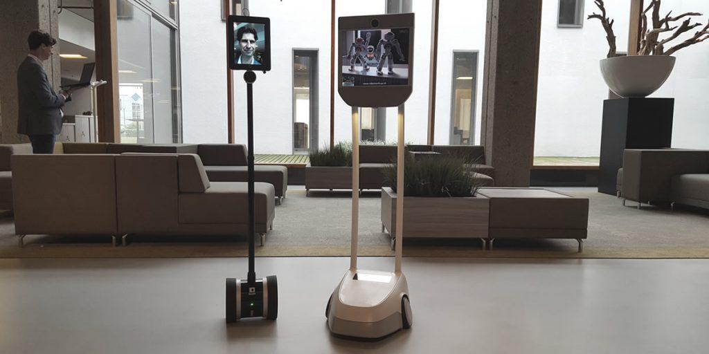 Telepresence robot voor uw event, robot verhuur