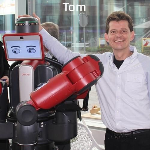 Tom, robotverhuur