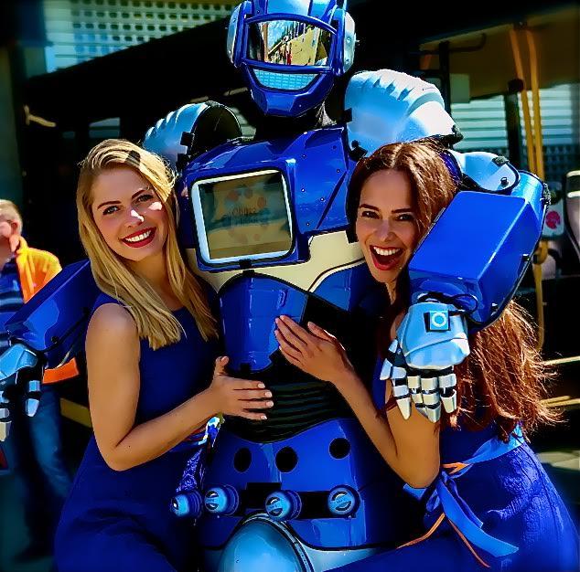 ME robot. live robots op je event
