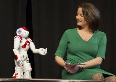 NAO Robot als Co-host, Robotverhuur