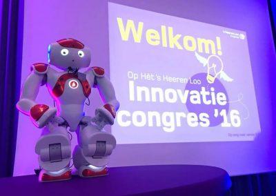NAO Robot als presentator, Robotverhuur