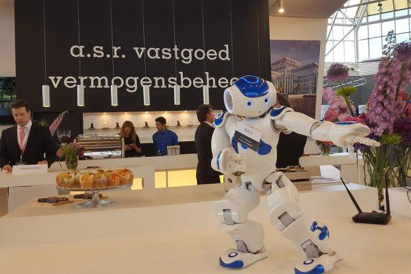 Robot op een event
