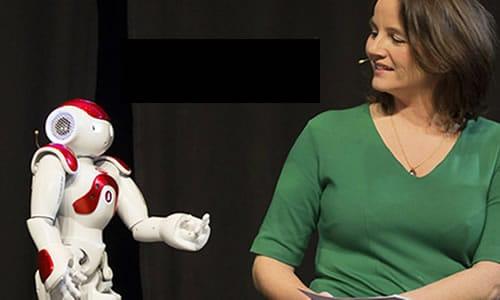 Robot als co-speaker
