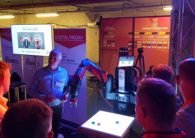 Baxter robot huren plus robot expert