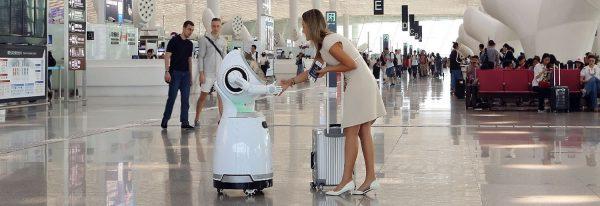 Cruzr robot voor uw event