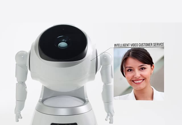 Robot hostess huren