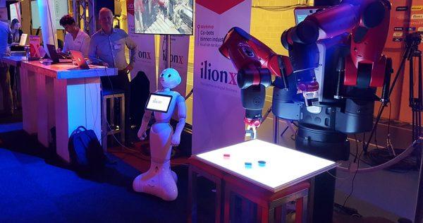 Innovatie pop-up met robot voor organisaties
