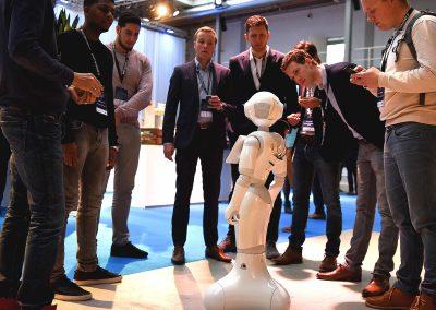 Kennismaken met een robot