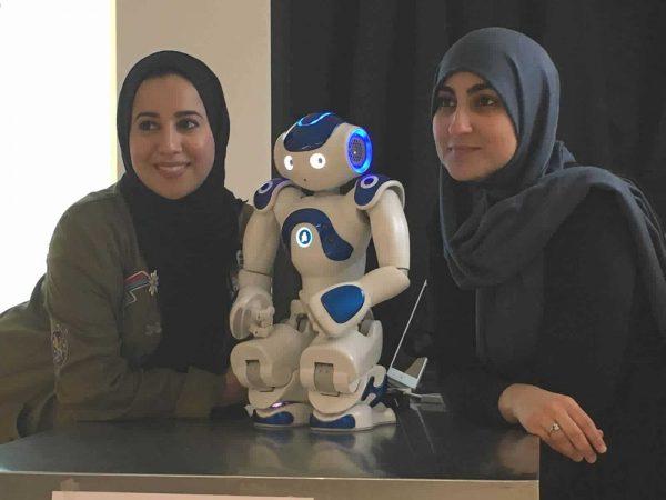 Kennismaken met een robot, nao