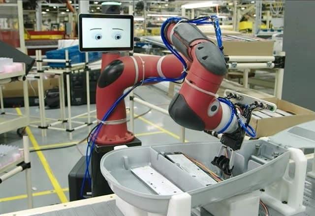 Robot Baxter huren