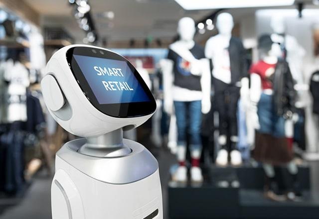 Huren robots voor retail