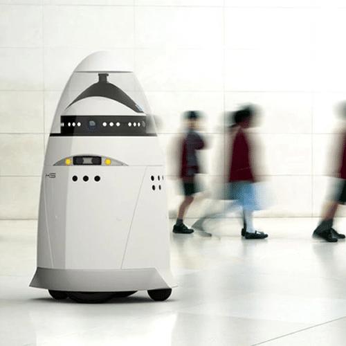 Robot voor de bewaking