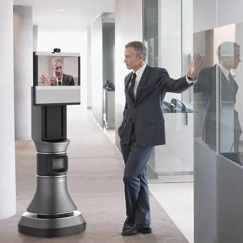 Robot voor kantoor huren, telepresence