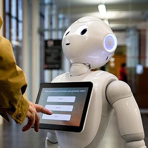 Robot voor kantoor huren