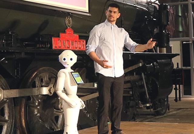 Cobot cocktail bar robot