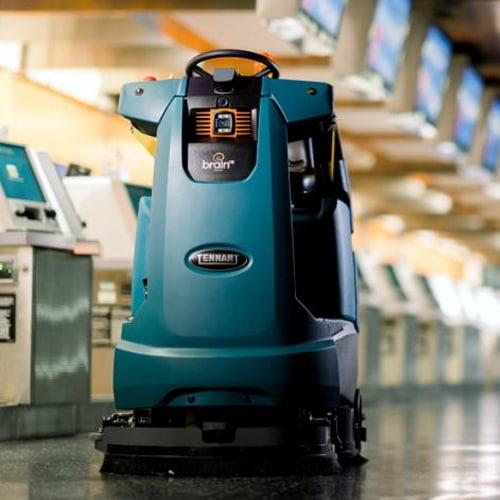 Robots die schoonmaken