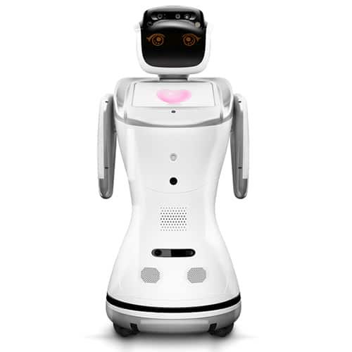 Sanbot robot receptie