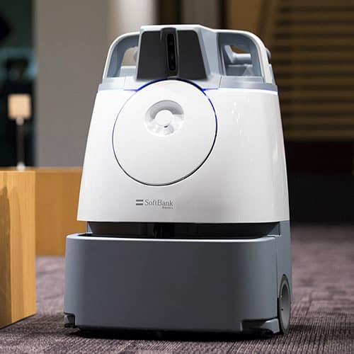 Schoonmaakrobot Whiz robot Softbank
