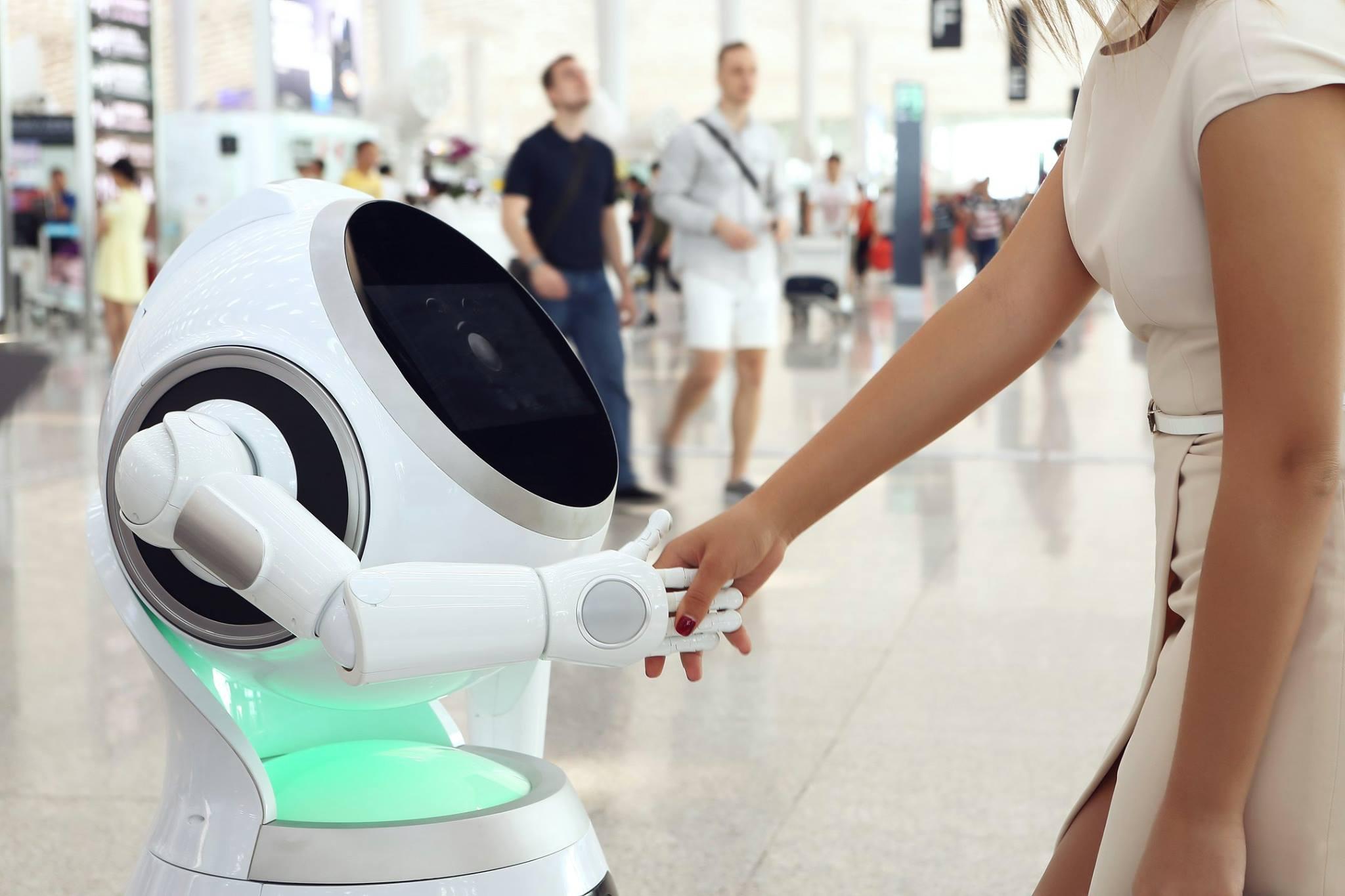 Huren robots voor de openbare ruimte