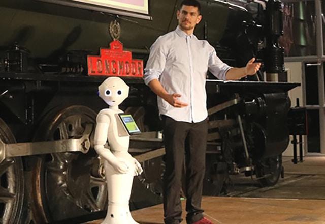 robot danser