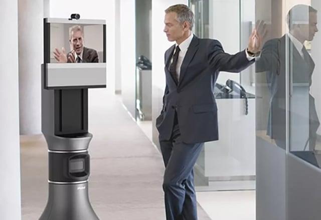 Robot op kantoor